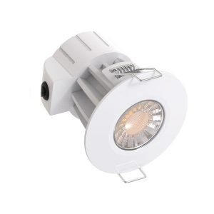 LED FIRE-RATED FIXTURE LED 8W 40° <strong>CCT CHANGE</strong> 200-240Vac, CRI>80, PF>0.9 IP65
