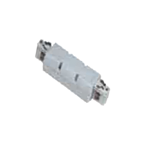 STRAIGHT CONNECTOR WHITE 3PHASE TRACK SYSTEM